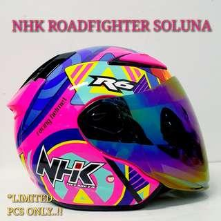 NHK ROADFIGHTER SOLUNA HELMET..😍!!