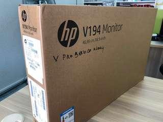 HP V194 Monitor Brand New