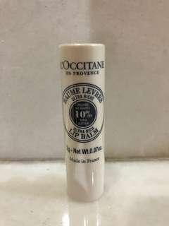 Moisturizing shea lip butter