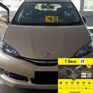 iDrive i11 Car Camera/Dashcam Installed On Toyota Wish!