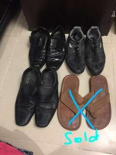 Sale all mens shoes 50 pesos