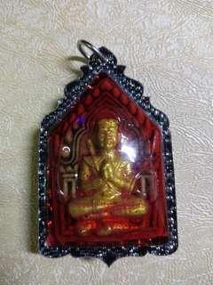 Thai amulet (Luang phor Ruam Khun paen)