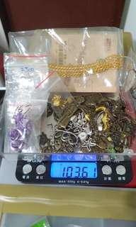 合金墜飾及零件福袋出清(100g150元)
