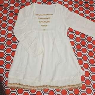 Broken white/Long sleeve/Tops