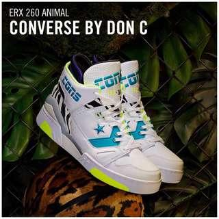 Just DON X CONVERSE ERX ANIMAL VS. METAL COLLECTION