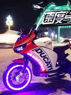 Ducati Rechargeable Ride On Motorcycle Big Bike Motorbike