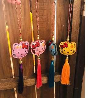 🚚 限量 Kitty 平安吊飾 新年裝飾 店鋪 車上 家居飾品