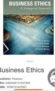 Business ethics a managerial approach