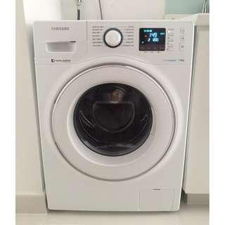SAMSUNG Eco Bubble Washer with  Digital Inverter Motor 7kg