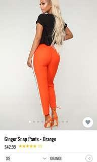 Fashion Nova Gingersnap Pants - XS