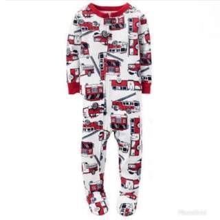 Carter Sleepsuit Fire Truck size 3thn