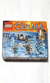 LEGO 70232 SABRE TOOTH TIGER TRIBE PACK LEGO CHIMA New & sealed