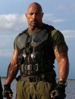 Mattel 7吋 Customed G.I.Joe Retaliation Roadblock Figure Dwayne Johnson The ROCK 義勇群英公仔