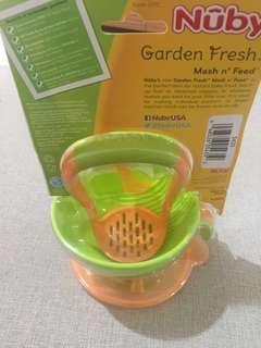 Nuby Garden Fresh Mash & Feed