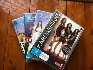 Keeping up with the Kardashian's DVD's