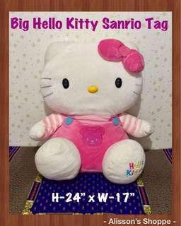 PRELOVED BIG HELLO KITTY