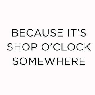 TIME TO SHOPPING..