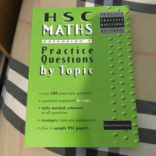3U past paper exam book