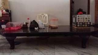 Meja oshin murah (meja makan) kayu solid