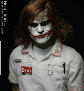 1/6 Nurse Joker 2.0 with 3 rooted hair