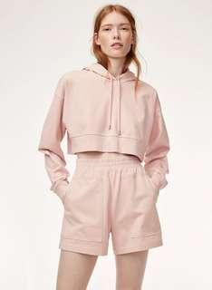 Aritzia cropped hoodie