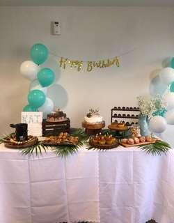 Dessert table props