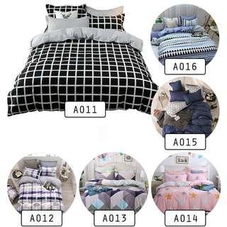 Bedsheet (Premium 4 in 1 Flat Bedsheet)