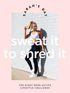 Sarah's Day Sweat it to shred it Ebook