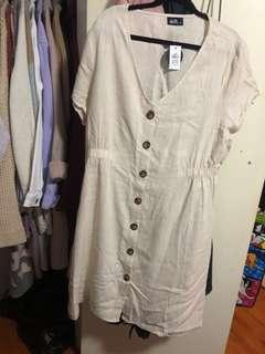 Brand new! Dotti linen dress