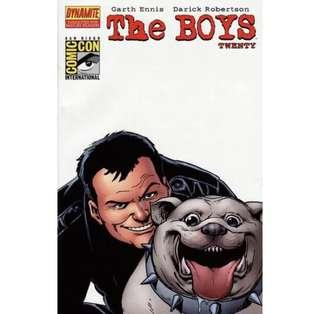 THE BOYS #20 (2008) SDCC Exclusive Variant cover