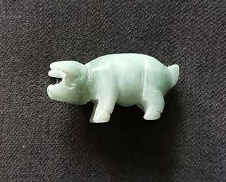 authentic Pig jade
