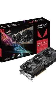 🚚 ASUS ROG-STRIX-RXVEGA56-O8G-GAMING GRAPHIC CAR