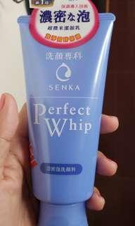 Shiseido Senka Perfect Whip Facial Cleanser