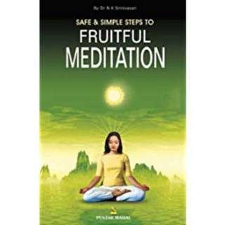 Safe & Simple Steps to Fruitful Meditation by Pustak Mahal