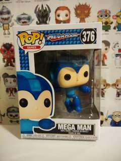 Funko Pop Megaman Jumping Vinyl Figure Collectible Toy Gift Games Mega man