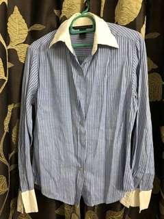 Blue Strap Shirt / Top / Kemeja