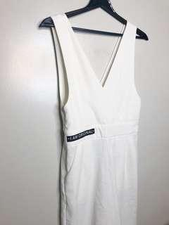 White Jumpsuit from KOREA