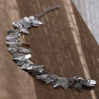 Leaves Design Bracelet 925 Silver Sterling Jewellery