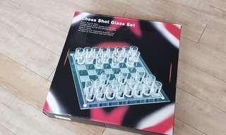 Shot glass game chest set  CNY games