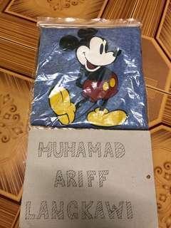 Mickey ringer kasut kuning