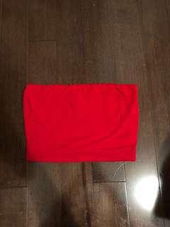 Mendocino red tube top