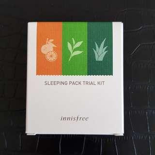 Bnib Innisfree Sleeping Pack Trial Kit