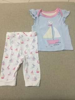 Mothercare babyset top bottom