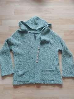 🚚 綠色毛料外套