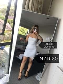 C102 Kookai Light Grey Dress