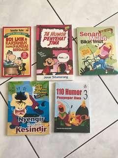 Buku-buku humor penyegar jiwa 😄