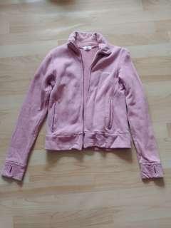 🚚 et.boite藕紫內刷毛棉質外套