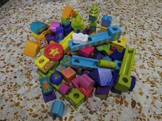 Wooden stacking blocks...