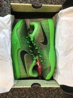 Nike Mamba Rage Grinch Green Kobe US 7.5
