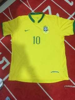Authentic Nike Brazil 06/08 Jersey